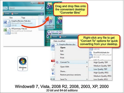 Click to view File Conversion Center 4.0.008 screenshot