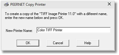 TIFF Image Printer - Copy Printer Color