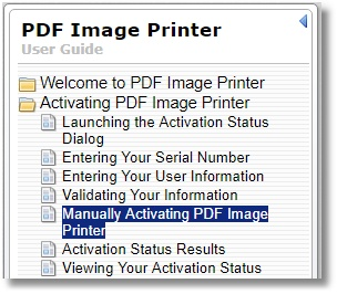 User Guide - PDF Manual Activating Bookmark
