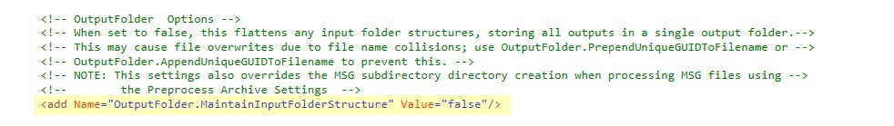 OutputFolder.MaintainInputFolderStructure_False