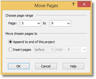 PDF Creator Plus - Move window