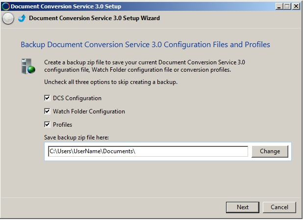 Batch Converter   Office to TIFF, PDF FAQs   DCS