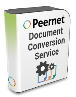 Peernet Document Conversion Service