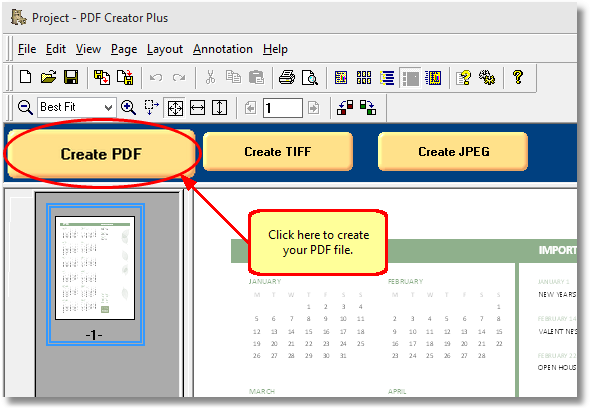 save excel as pdf