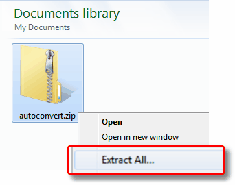 how to read pdf zip files