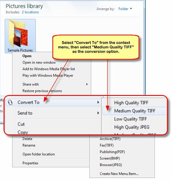 convert tiff to pdf automatically