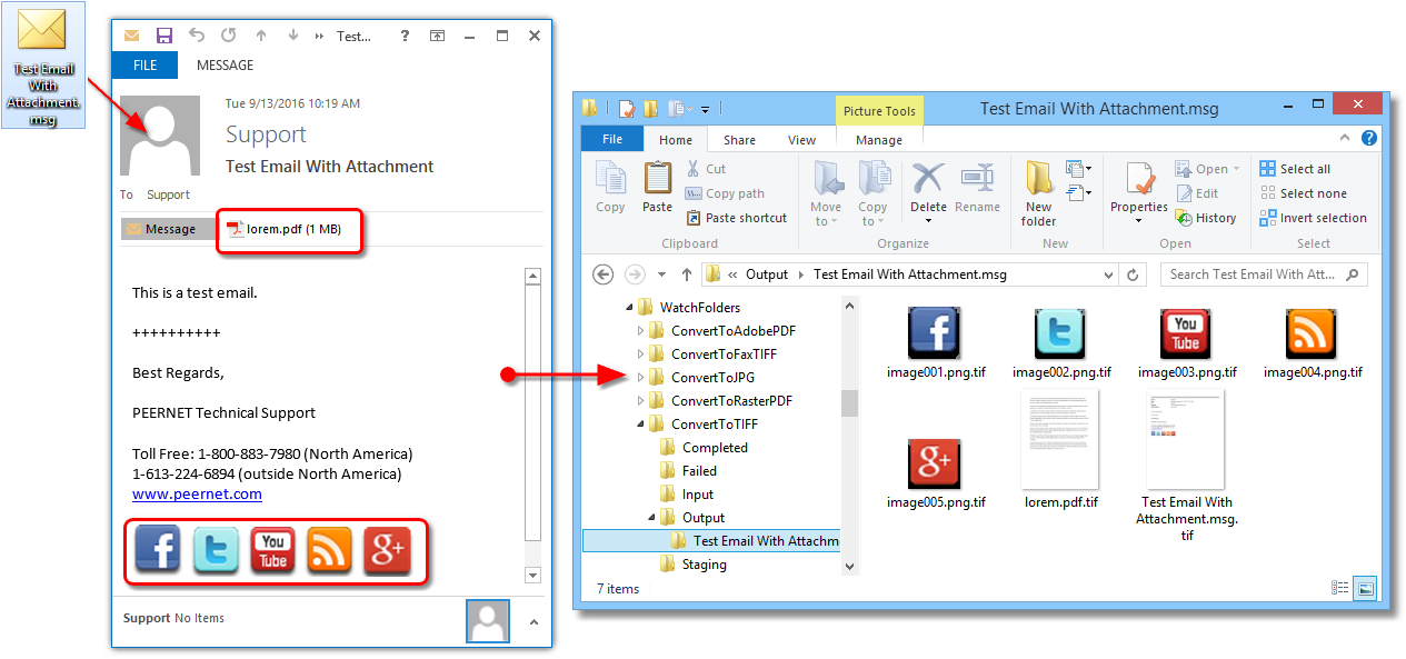 Extracting attachments from Outlook  msg files