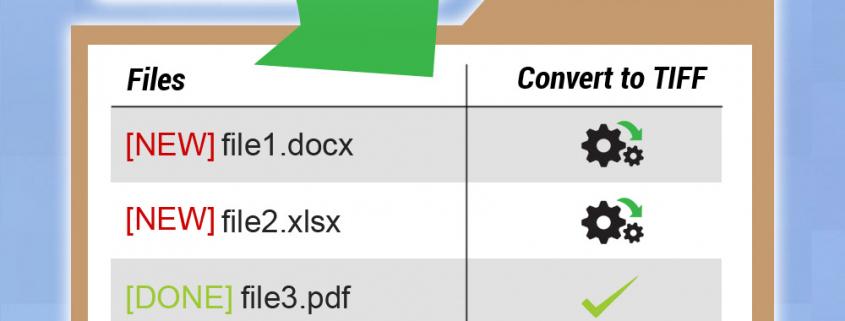 Document Conversion Service - Convert to TIFF Watch Folder Example